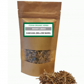 cancasa label - willow bark