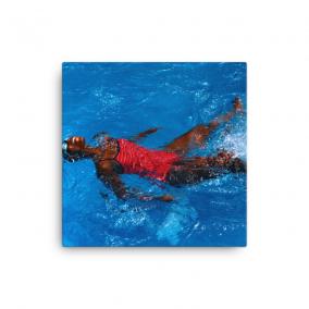 "Photo Print Canvas – ""Afua's Wave"""