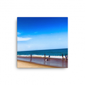 "Photo Print Canvas – ""Sogakope Beach"""