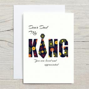 Dear Dad, My King