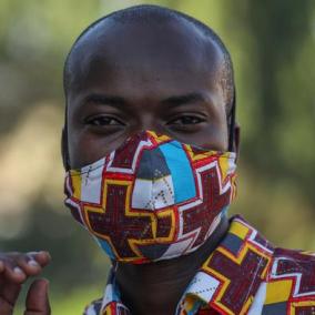 Men's 100% Cotton Handmade Custom Face Mask