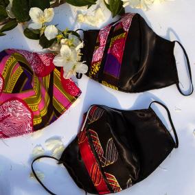 Face Mask_African Print Ankara/kente Fabric