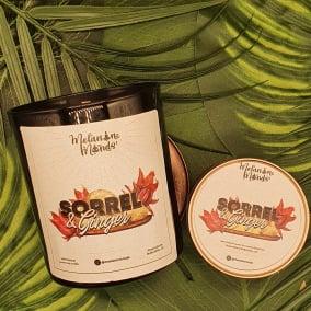 Melanin Minds Candle  – Caribbean Sorrel And Ginger Candle