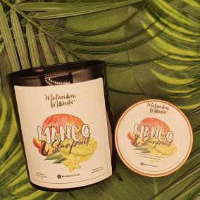 Melanin Minds Candle – Caribbean Mango And Starfruit Candle