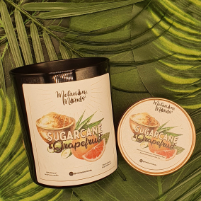 Melanin Minds Candle – Caribbean Sugarcane And Grapefruit Candle