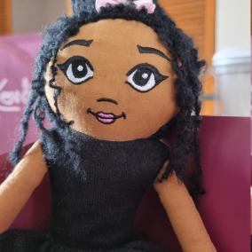 Fabric doll , Rag doll , kids gift, birthday gift, keepsake doll, heirloom doll, Collector doll, Soft doll UK