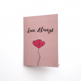 Greeting Card for Couples 'Love Always' | Valentines Day | Anniversary