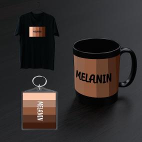 Melanin T shirt Bundle Gift Set For Women and Men