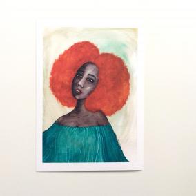 'New Dawn' Art Print by Stacey-Ann Cole