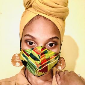Women's 100% Cotton Handmade Custom Face Mask