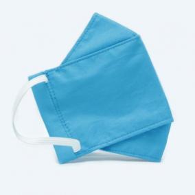 Powder Blue Origami Face Mask