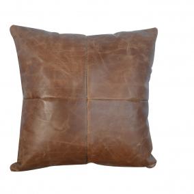 BTMR inspired Interiors | Leather Cushion – Buffalo Hide