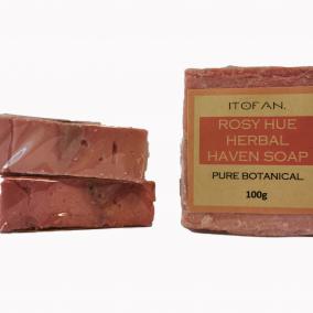 Rosy Hue Herbal Haven Soap – Itofan