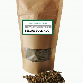 yellow dock label